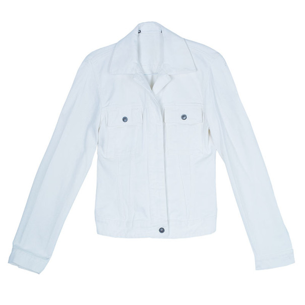 Gucci White Denim Jacket M