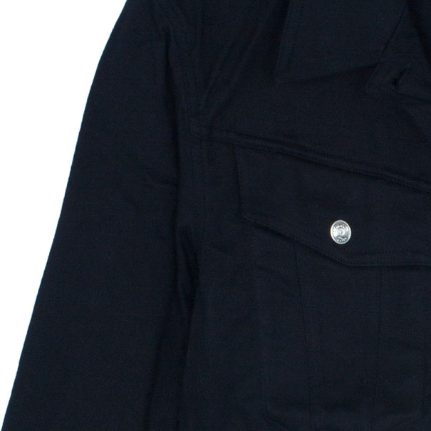 Dior J'Adore Dior Black Denim Jacket S