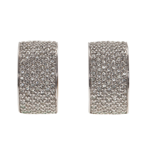 Dior Vintage Crystal Earrings