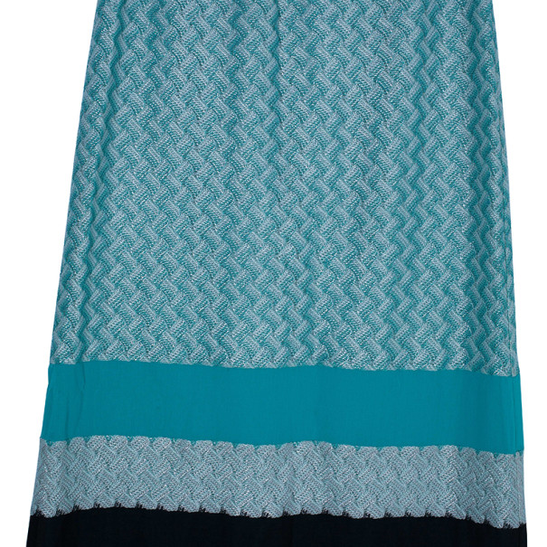 Missoni Color-Block Maxi Skirt S