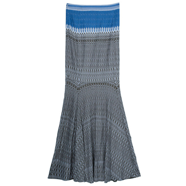 Missoni Long Woven Multicolor Skirt S