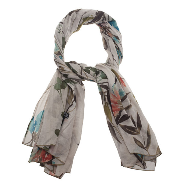 Gucci Floral Cotton Scarf