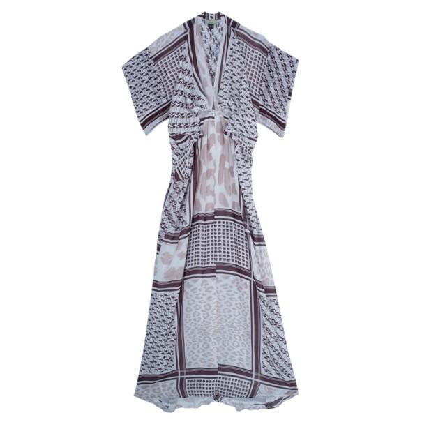 Issa Keffiyeh Print Maxi Dress S