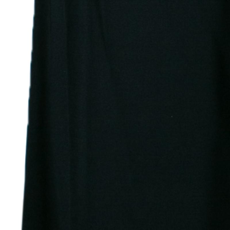 Just Cavalli Black Stretch Flare Dress M