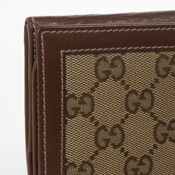 Gucci Monogram G Continental Wallet