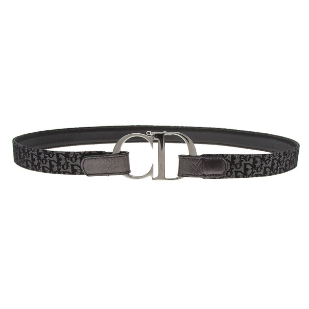 Dior Metallic Diorissimo CD Buckle Belt 75CM