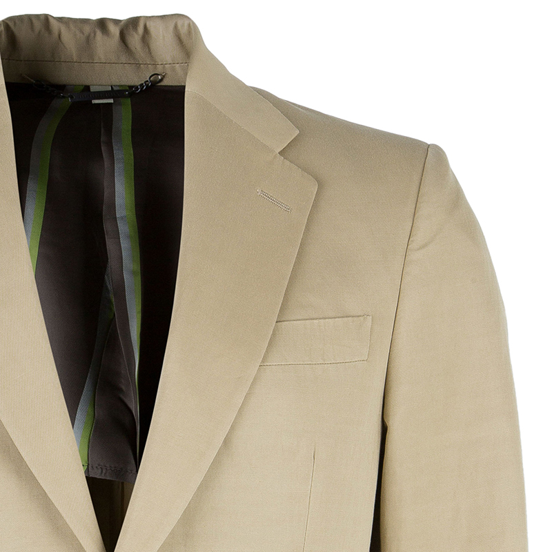 Burberry London Men's Beige Blazer L