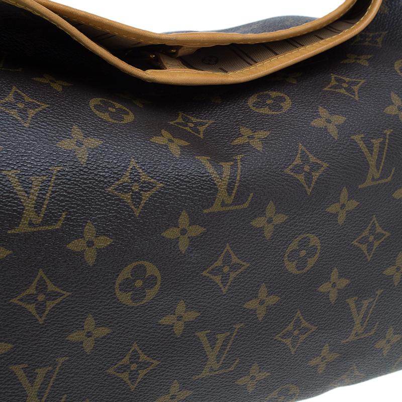 Louis Vuitton Monogram Canvas Delightful Hobo MM