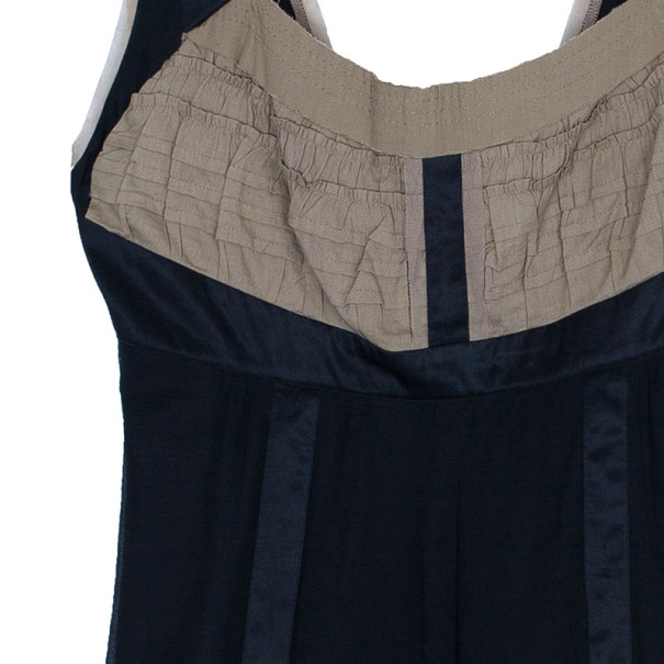 Philosophy di Alberta Ferretti Black Sleeveless Dress M