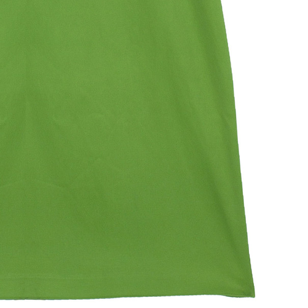 D and G Lime Green Sheath Dress M