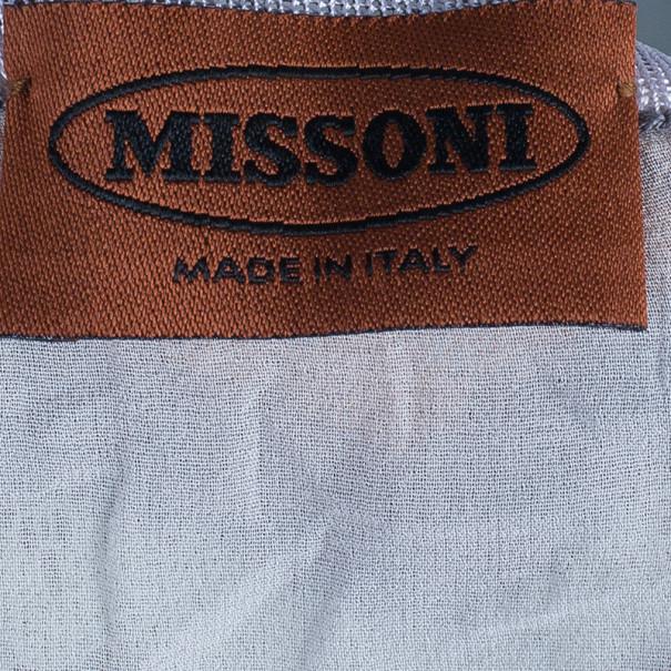 Missoni Zig-Zag Knit Dress M