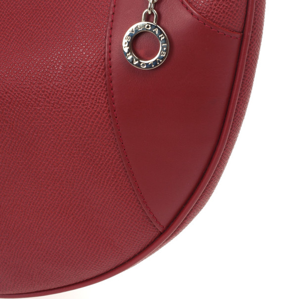 Bvlgari Leather Small Mathlida Shoulder Bag