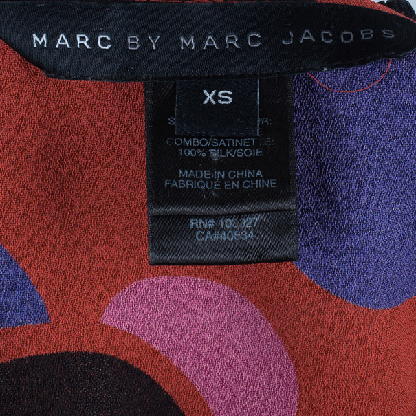 Marc by Marc Jacobs Red Polka Dot Top XS