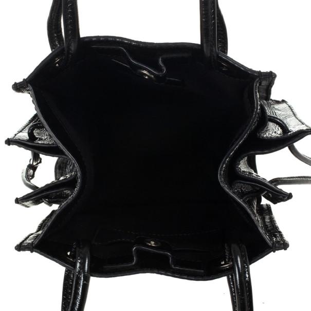 Loewe Small Patent Logo Tote Bag