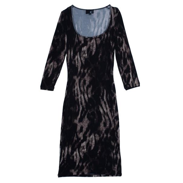 Just Cavalli Animal Print Jersey Dress M