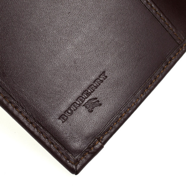 Burberry Haymarket Check Passport Cover