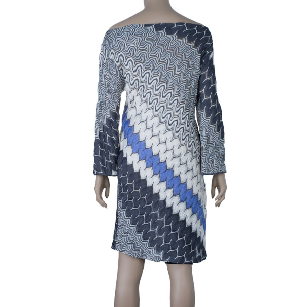 Missoni Zig-Zag Print Knit Dress M