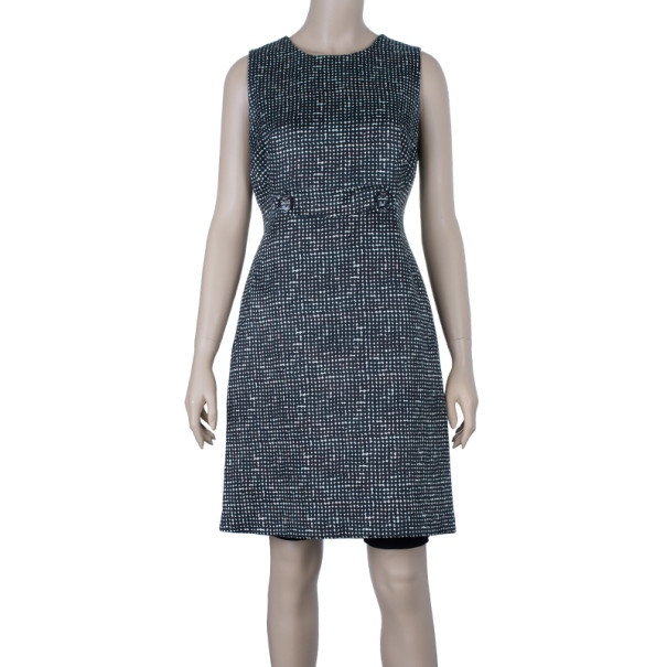 Tory Burch Monochrome Sheath Dress M