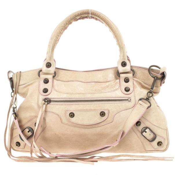 Balenciaga Nude Classic First Bag