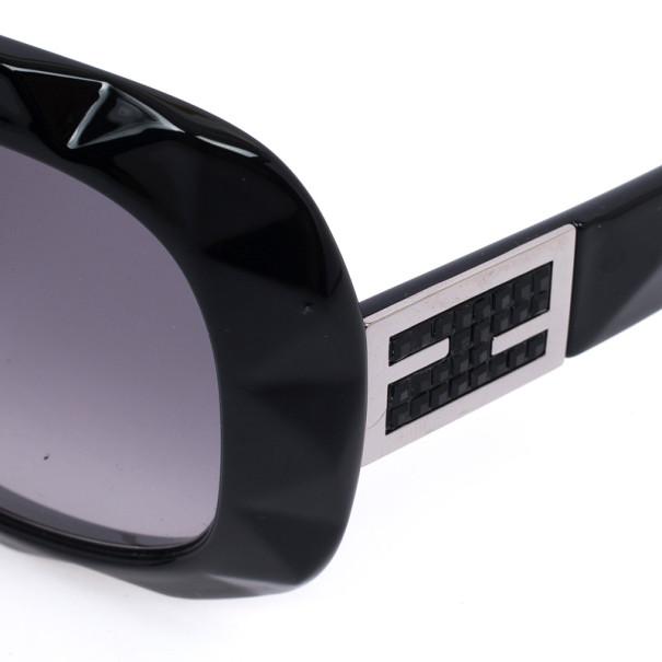 Fendi Black Oversize Square Woman Sunglasses