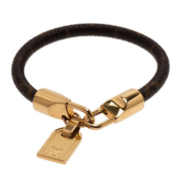 Louis Vuitton Monogram Luck It Bracelet 17CM