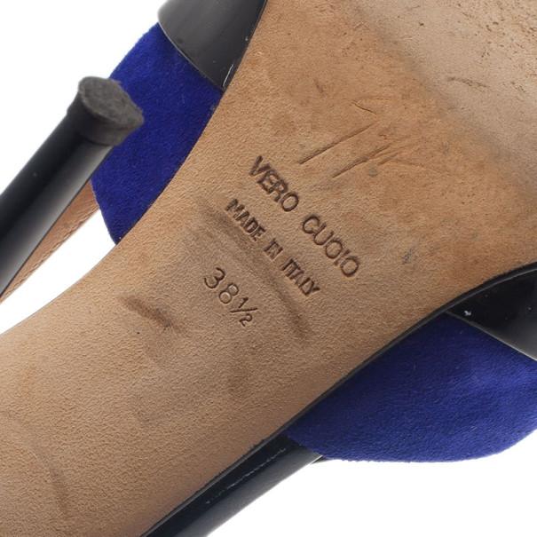 Giuseppe Zanotti Tri Color Patent Pumps Size 38.5