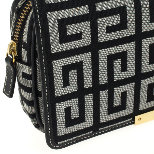 Givenchy Monogram Flap Clutch Wallet Bag