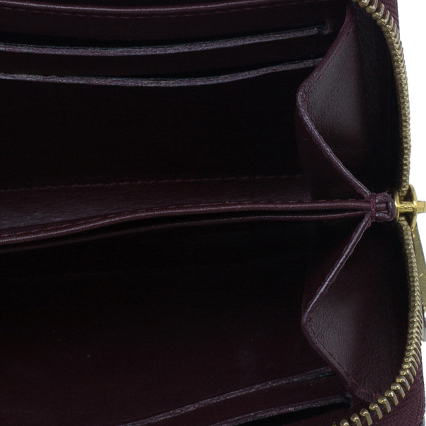 Louis Vuitton Amarante Monogram Vernis Zippy Coin Purse