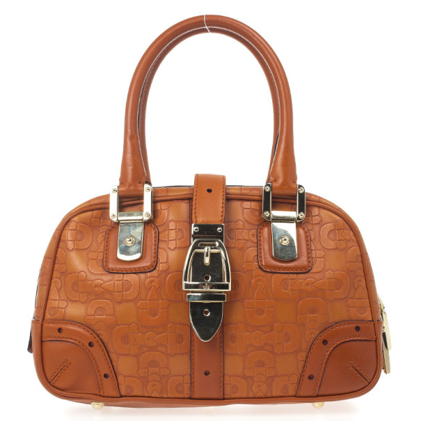 Gucci Embossed Horsebit Satchel
