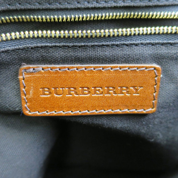 Burberry Nova Check Canvas Salisbury Tote