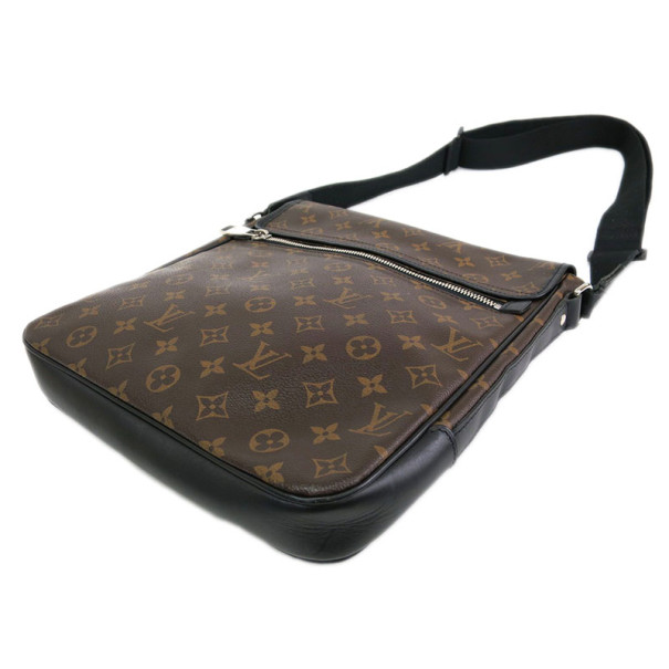 Louis Vuitton Monogram Macassar Canvas Messanger Bass MM