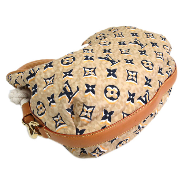 Louis Vuitton Monogram Cruise Beige Nylon Ulles Shoulder Bag MM