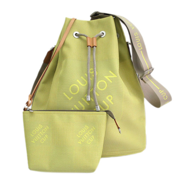Louis Vuitton Volunteer Cup Drawstring Shoulder Bag