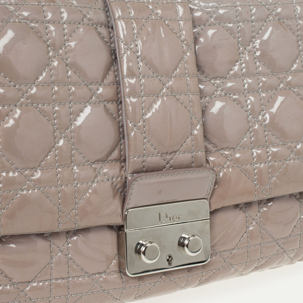 Christian Dior Miss Dior Medium Patent Flap Bag