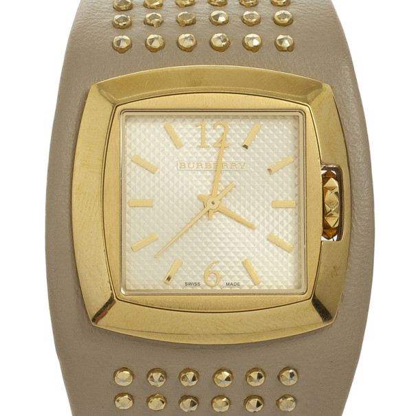 Burberry White Signature Womens Wristwatch 32 MM