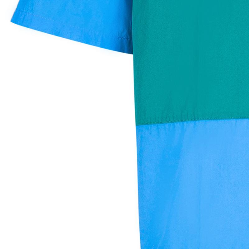 Burberry Men's Colorblock Cotton Shirt XL