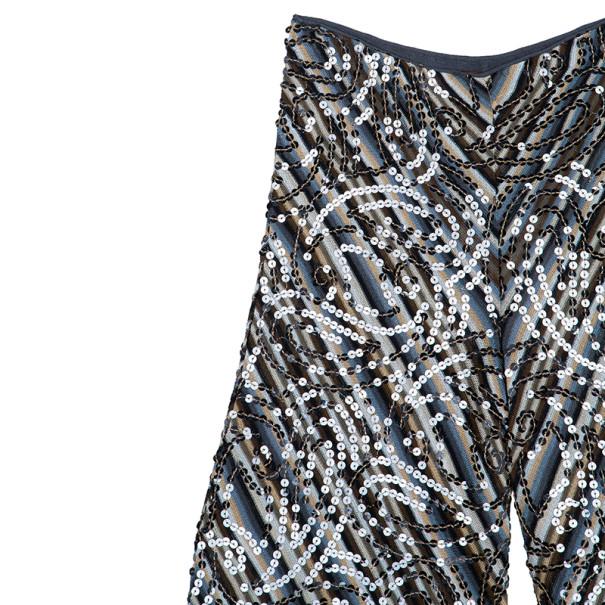 Missoni Sequin Embellished Wide Pants M