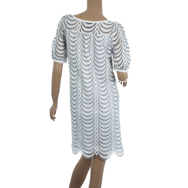 Marc by Marc Jacobs Eyelet Lace Dress M