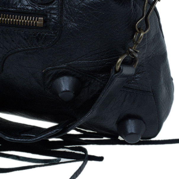 Balenciaga Black Giant City Bag
