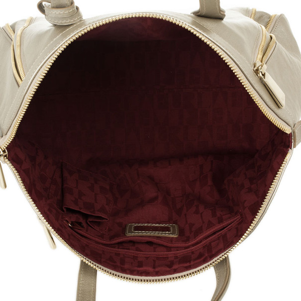 Furla Onyx Pebbled Leather 'Amazzone' Zip Hobo