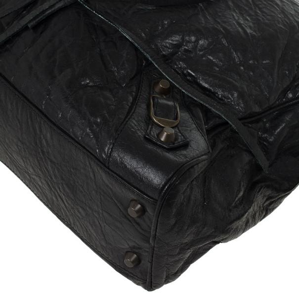 Balenciaga Black Medium Classic Satchel