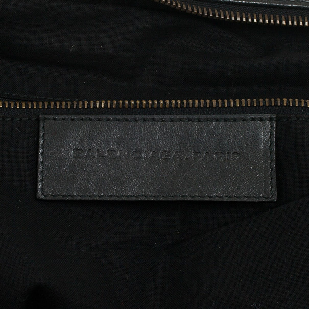 Balenciaga Black Medium Classic Satchel