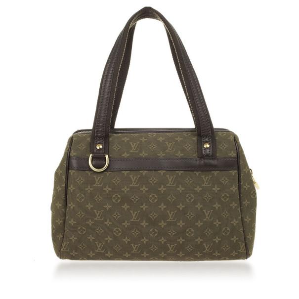 Louis Vuitton Green Monogram Mini Lin Josephine PM Bag