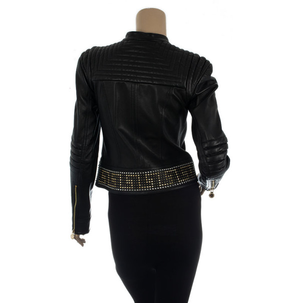 Versace for H&M Studded Zipper Jacket S