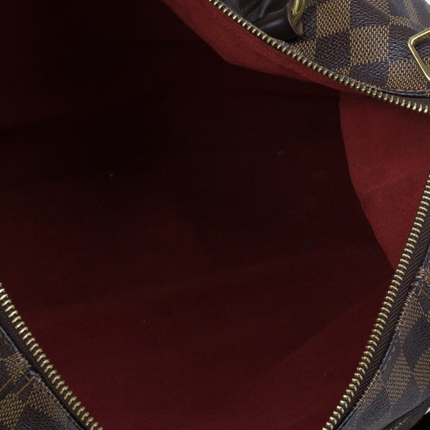 Louis Vuitton Damier Ebene Canvas Evora Tote MM