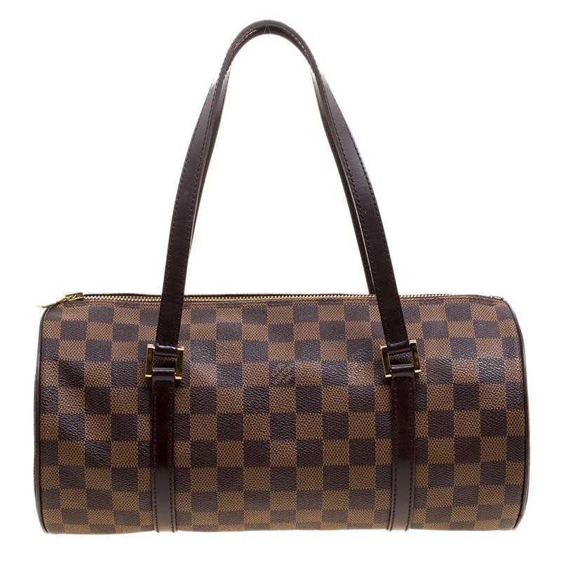 ... Louis Vuitton Damier Ebene Canvas Papillon 30 Bag   Accessory Pouch.  nextprev. prevnext 998a20e200b50