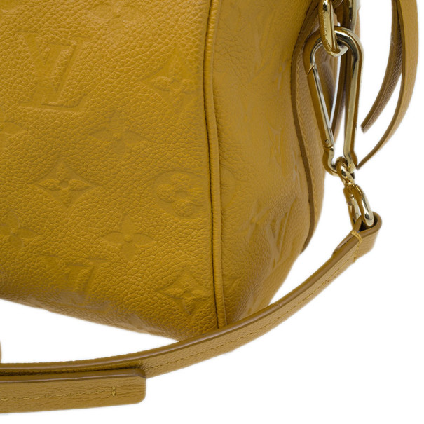 Louis Vuitton Safran Monogram Empreinte Speedy 25