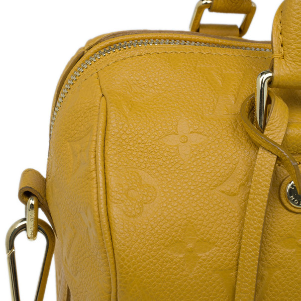 Louis Vuitton Safran Monogram Empreinte Speedy 25