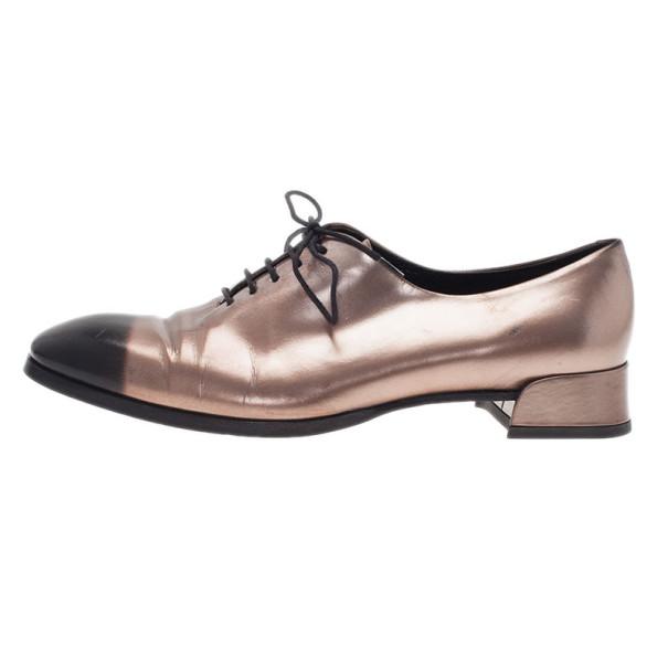 Dior Two Tone Oxfords Size 37.5