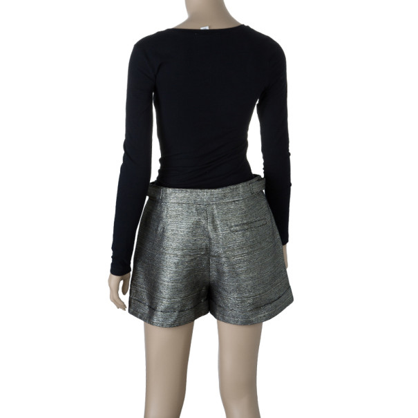 See by Chloe Metallic Shorts S